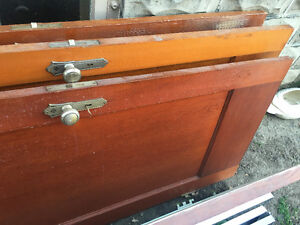 4 old doors in good condition