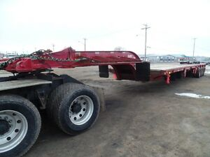 2008 PEERLESS  60 TON 24 WHEEL LOWBOY AT www.knullent.com