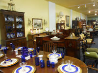 antique dining tables,chairs,buffets  double pedestal mahogany