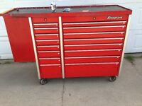 Snap in tool box 16 drawers with side cabinet life time warranty