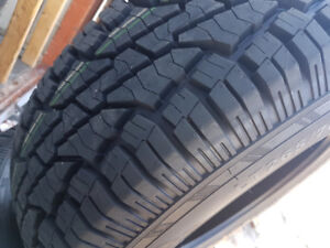 4 X NEW LT265-70-R17 ETE 10PLY CACHLAND TIRE NEUFS TAX IN