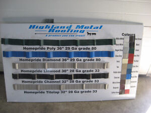 Steel Roofing for Sale