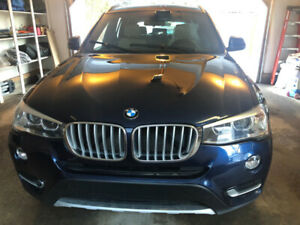 BMW X3 SUV (2015):  low KM, immaculate condition