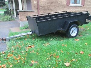 Quality 4 feet by 8 feet Utility Trailer For Sale