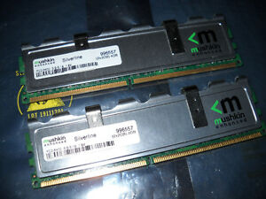 Mushkin Silverline DDR2 pc memory 4GB PC6400