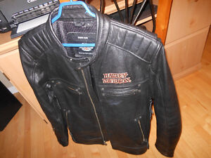 HARLEY DAVIDSON FLAMING SKULL JACKET