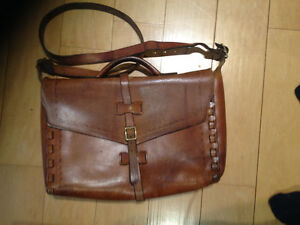 Hand Crafted Leather Briefcase