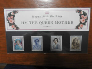 90th Birthday Queen Mother Stamps