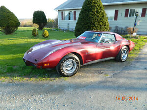 1975 Corvette Stingray T-Top Coupe