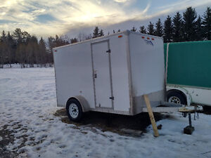 2010 6 by10 CargoTrailer with ramp