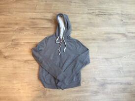 Ladies Hollister grey hoodie