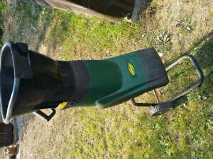 Yard works chipper