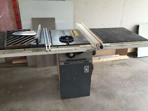Table saw 1hp motor