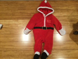 Santa suit 6to9 month