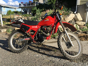 1984 Honda 200R XL dirt bike