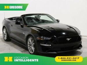 2018 Ford Mustang GT PREMIUM CONVERTIBLE CUIR MAGS 20""