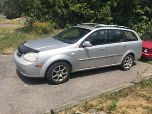 Chevrolet Optra Touring 2007 manuelle