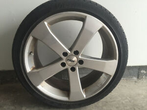 18 inch TSW Vortex rims with low pro tires. $600 OBO
