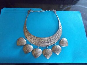 Unique Hand Hammered Necklace