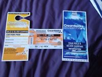 3 x Creamfields - 4 Day Camping GOLD - Need To Go ASAP!!!