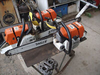 used stihl chainsaws