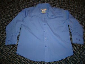Boys Size 4 Blue Dress Shirt Kingston Kingston Area image 1