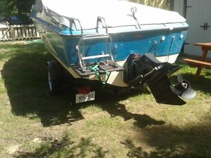 Boat and Trailer, willing to trade for harley, equill value