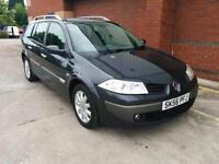 Renault Megane Estate 1.5dCi Dynamique. WARRANTY. ALLOYS. A/C. RCL. CD. EW. EM.