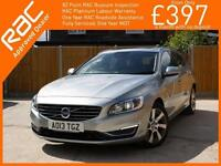 2013 Volvo V60 2.4 D6 AWD Plug-in Hybrid Electric Diesel Pure Limited Edition 6
