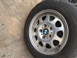 4x BMW mag wheels 205/65/15 kumho tyres as new Seven Hills Blacktown Area Preview