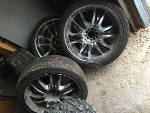 """22"""" rims came off my Chrysler 300c"""