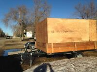 2011 8x10 QUAD,SLED TRAILER WITH 6 ft sides- only 1800 firm