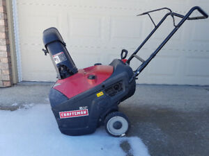 Craftsman 21 inch Snowblower / Thrower - In Good Used Condition