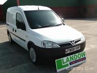 2008 Vauxhall COMBO 2000 CDTI CREW VAN Manual CAR DERIVED VAN