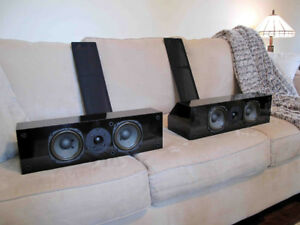 NHT VS-1.2A Center or Satellite Speakers