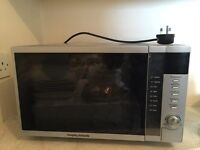 Morphy richards ag820akf microwave with grill