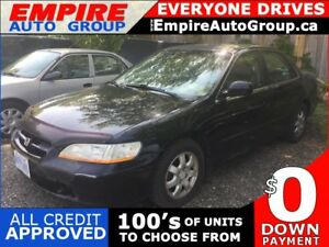 2002 HONDA ACCORD EX * LEATHER * SUNROOF
