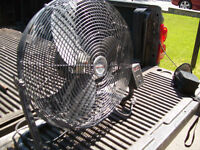 Heavy Duty Industrial fan. 12 inches diameter and 10 inch high