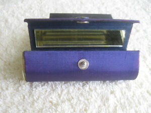 DELUXE OLD 1960 COSMETIC LIPSTICK TRAVEL CASE [MIRRORED]