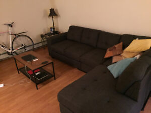 1  bed extra large living area Apartment to rent near downtown