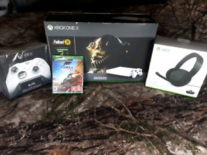 Xbox one x package