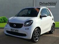 2017 smart fortwo 1.0 Prime Cabriolet Twinamic (s/s) 2dr Convertible Petrol Auto