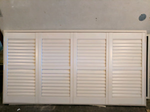 California Shutters with frame