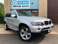 2006 (56) BMW X5 3.0D SPORT AUTO, SAT NAV, HEATED LEATHER, CRUISE, PAN ROOF