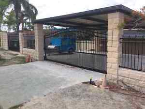Electric driveway gates and fencing Boronia Heights Logan Area Preview