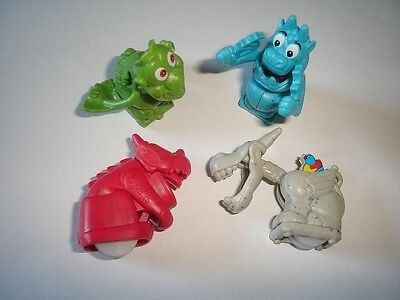 KINDER SURPRISE SET - GARGOYLES STONE STATUES - FIGURES TOYS COLLECTIBLES