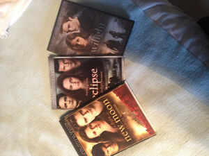 Twilight DVDs - 3 items