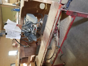 Electric pull saw