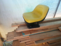 John Deere Riding Lawn Mower seat