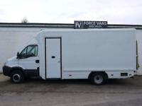 IVECO DAILY 65C18 SNAP ON HORSE BOX WORK CAMPER SHOWROOM MOBILE SHOP DISPLAY VAN